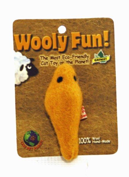 Wooly Fun Fish Catnip Cat Toy
