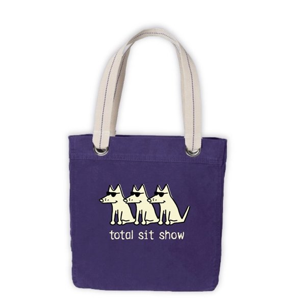 Total Sit Show Canvas Tote Bag