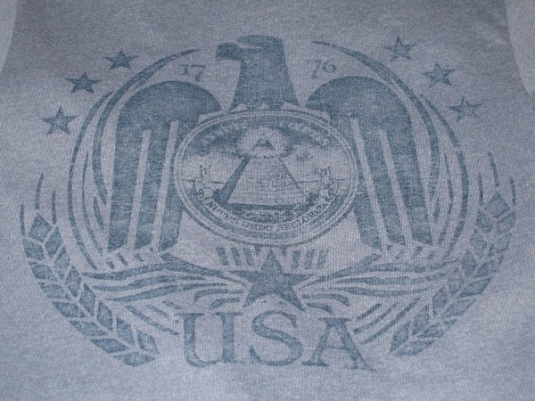 USA Seal (small only) Unisex tee