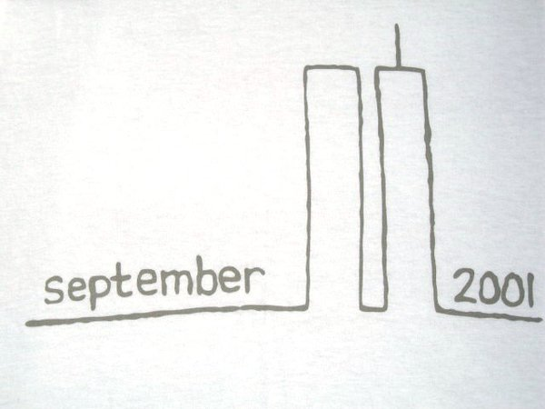 September 11 Remembrance Tee - White T-shirt
