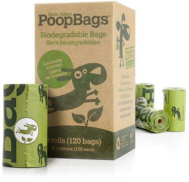 Earth Rated Poop Bags 120 Dog Waste Bags refills