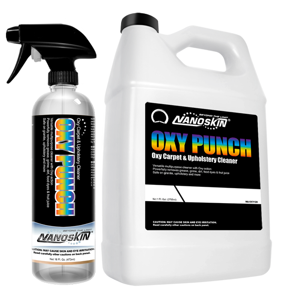 oxy punch oxy carpet upholstery cleaner auto shine plus. Black Bedroom Furniture Sets. Home Design Ideas