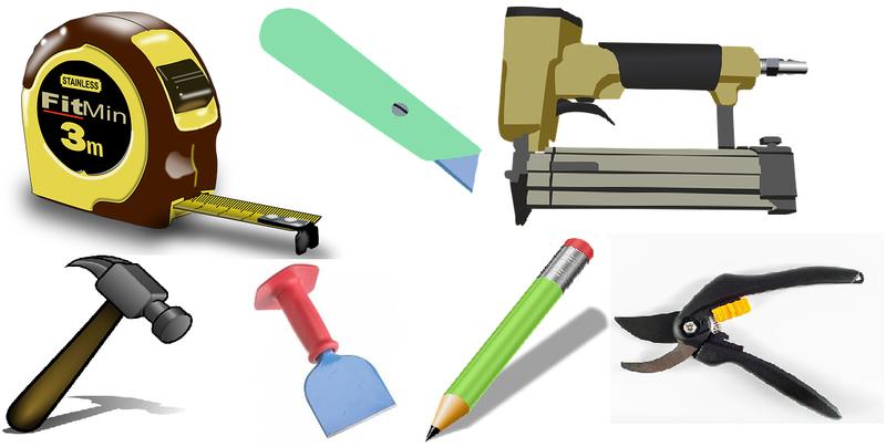 Værktøjer, der er nødvendige for at passe til gripperods