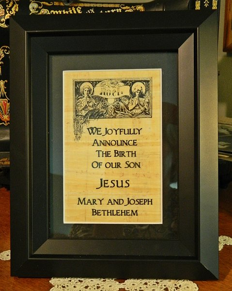 Jesuss Birth Announcement – Jesus Birth Announcement