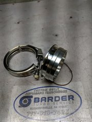 """S400 3.5-4"""" Compressor Outlet Flange and Clamp"""