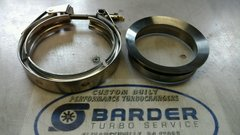 """S300 Billet Steel Downpipe Downpipe Flange and Clamp 3.5"""" or 4"""""""