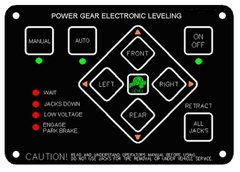 Lippert Electronic Leveling Touch Pad 359080