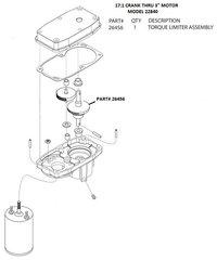 Barker Slide Out Motor Torque Limiter 26456
