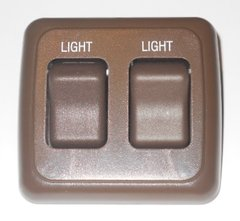 12 VDC Double Contoured Light Switch Assembly AH-ASY-2-2-040