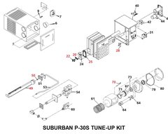 Suburban Furnace Model P-30S Tune-Up Kit