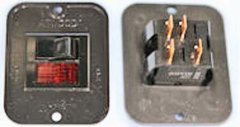 Atwood Water Heater Switch Kit, Black, 91959
