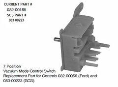SCS Heater 7 Position Vacuum Switch 032-00185