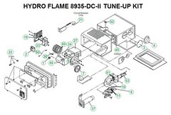 Atwood / HydroFlame Furnace Model 8935-DC-II Tune-Up Kit
