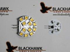 G4 Base 12 LED Bulb, Side Pin, Cropped, 150 Lumens, Soft White, LB1.5W-SW-C
