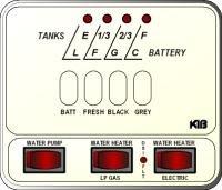 KIB Electronics Monitor Panel Model M23-2HWL Repair / Installation Kits