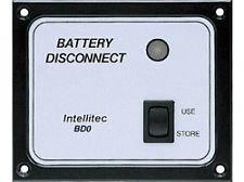 Intellitec Battery Disconnect Panel, BD0, 01-00066-004