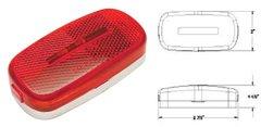LED Marker Light, Red 9 Diode, L14-0052