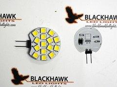 G4 Base 15 LED Bulb, Side Pin, Cropped, 150 Lumens, White, LB1.5W-W-C