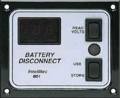 Intellitec Battery Disconnect Panel, BD1, 01-00066-005