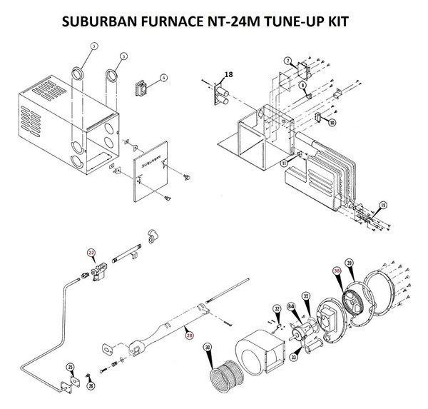 Suburban Furnace Model Nt 24m Parts Pdxrvwholesale
