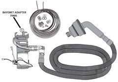 Sani-Con Bayonet Adapter 70405