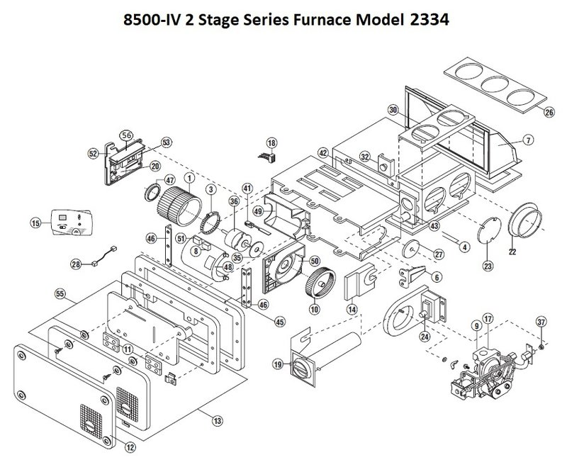 atwood furnace parts view | pdxrvwholesale atwood furnace wiring diagram 8520 111 #4