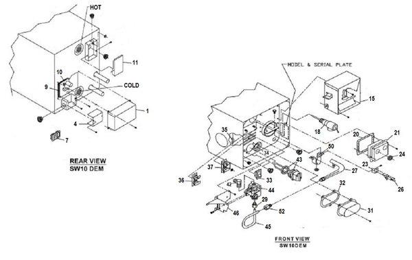 Suburban water heater tune up kits pdxrvwholesale suburban water heater model sw10dem tune up kit sciox Choice Image