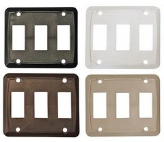 Triple Switch Wall Plate