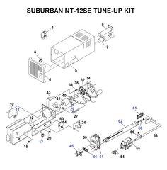 Suburban Furnace Model NT-12SE Tune-Up Kit