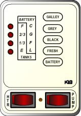 KIB Electronics Monitor Panel Model M25VWL Repair / Installation Kits
