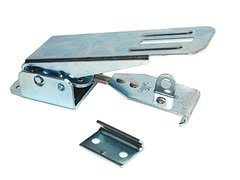 RV Folder Camper / Trailer Silver Latch E313