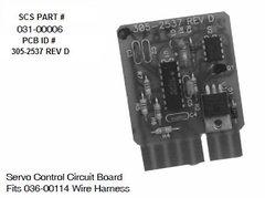 SCS Servo Control Circuit Board 305-2537 REV D