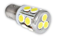1156 LED Bulb, 21 LED's, 215 Lumens, Daylight White, WP05-0118