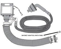 Sani-Con Bayonet Adapter 70408