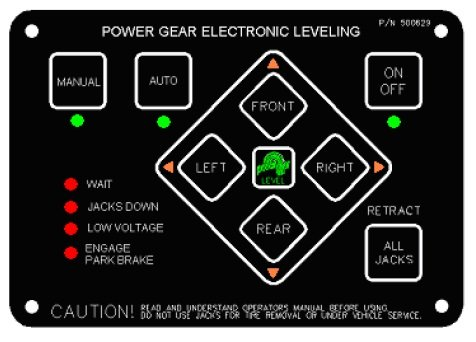 Power Gear Electronic Leveling Touch Pad Kit 500629s