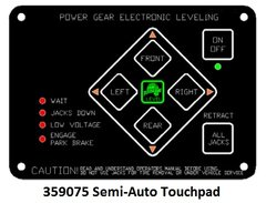 Lippert Electronic Leveling Touch Pad 359075