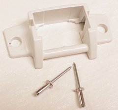 A&E Awning Lower Arm Bracket Foot With Rivets 3310811.009B