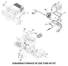 Suburban Furnace Model SF-25Q Tune-Up Kit