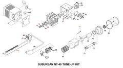 Suburban Furnace Model NT-40 Tune-Up Kit