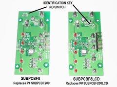 KIB Electronics Replacement Board Assembly, F8 Series, SUBPCBF8