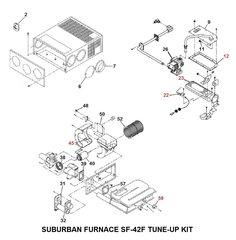 Suburban Furnace Model SF-42F Tune-Up Kit