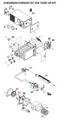 Suburban Furnace Model NT-25K Tune-Up Kit