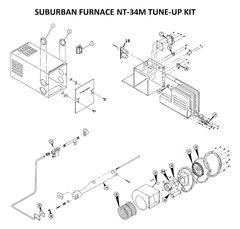 Suburban Furnace Model NT-34M Tune-Up Kit