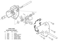 Barker Slide Out Model 25668 Rebuild Kit