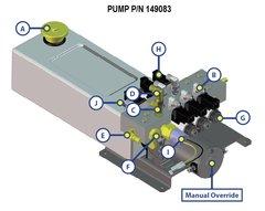 Lippert Pump Assembly 149083
