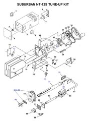 Suburban Furnace Model NT-12S Tune-Up Kit