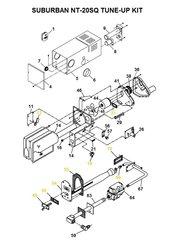 Suburban Furnace Model NT-20SQ Tune-Up Kit