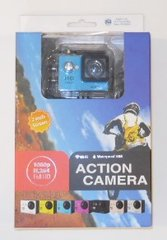 Kaper II Blue Body Portable Action Camera L12-0249-BLU-KIT