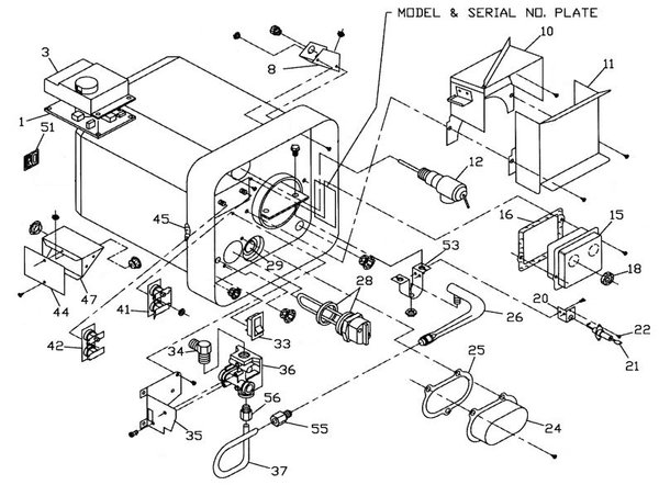 wiring diagrams   suburban rv furnace parts diagram