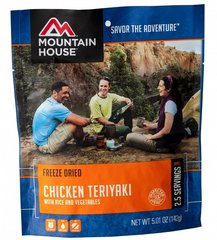 Chicken Teriyaki with Rice Pouch